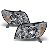 For Toyota 4Runner Sport SUV [OE Style] Replacement Headlights Driver/Passenger Head Lamps...