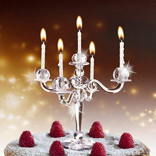Hoobbe, Candelabro in miniatura, per torte inclusecandele