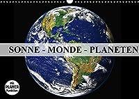 Sonne, Monde und Planeten (Wandkalender 2022 DIN A3 quer): Die Himmelskoerper in unserem Sonnensystem (Geburtstagskalender, 14 Seiten )