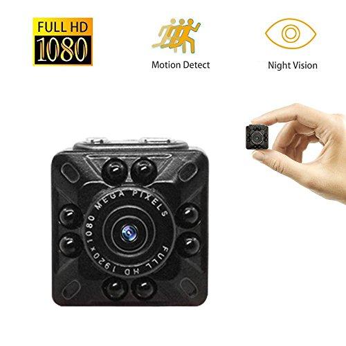 Home-Security-Kamera, 1080P HD-Mini-Nanny-Kamera mit Bewegungsüberwachung 120 ° Weitwinkel-Nachtsicht-Videorecorder (Blau)
