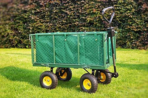 Merschbrock Trade GmbH Bollerwagen für den Garten, grün
