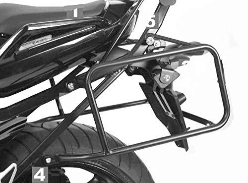 HEPCO&BECKER - Soporte De Maletas Laterales Para Yamaha Fz 1 Fazer