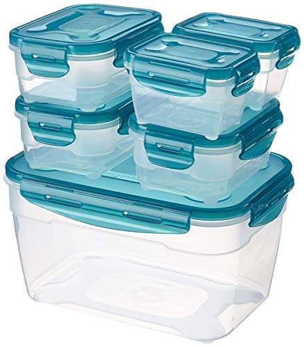 AmazonBasics 6 pcs Food Storage Set