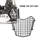 Motocicleta Guardia de Faro de Acero Inoxidable para Yamaha TENERE 700 2019 2020 2021