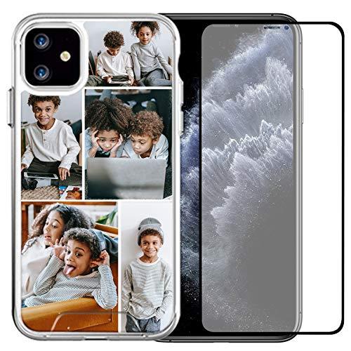 Funda compatible con Apple iPhone 12 Pro/iPhone 12 de 6,1 pulgadas con 1 protector de pantalla para damas, niñas, para mujeres, para madres, hombres (5 imágenes)