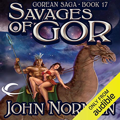 Savages of Gor audiobook cover art