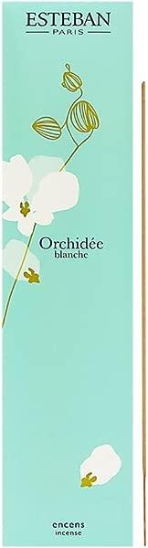 Esteban Orchidee Blanche Bamboo Stick Incense 20 Incense Sticks