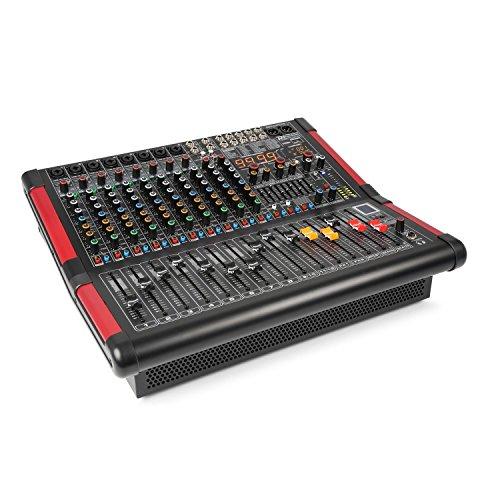 Power Dynamics PDA-S1204A mesa de mezclas de 12 canales con...