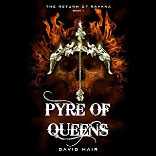 Pyre of Queens audiobook cover art