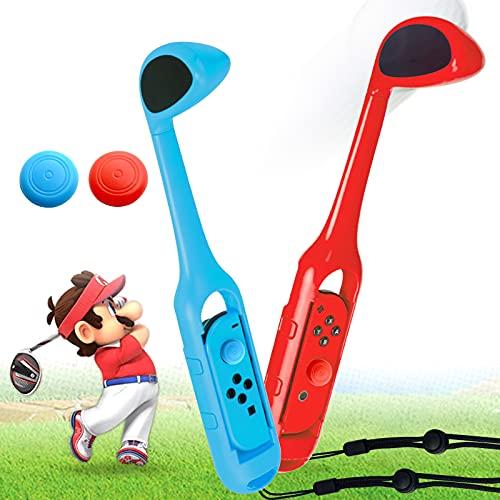 Mario Golf Palo para Switch con 2PCS Joystick Cap, Switch Golf Palo...