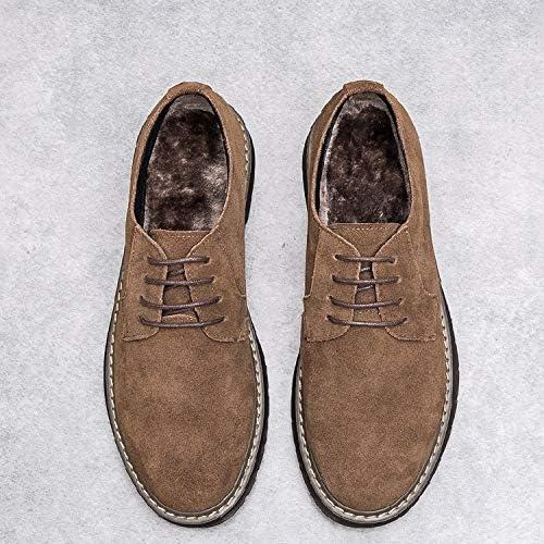 ZyuQ botas de hombre otoño e Invierno baño para Ayudar a Martin botas Zapaños de Cuero Casual Zapaños de Cuero botas Cortas Zapaños de Hombre
