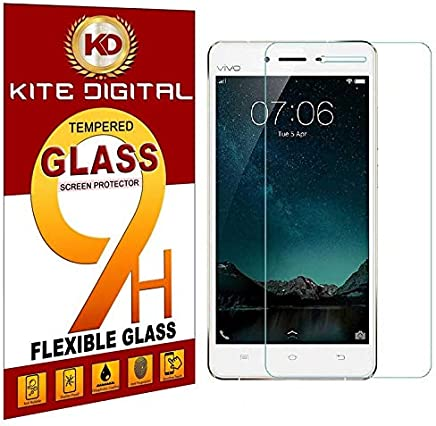 Kite Digital VIVO V3 Premium Tempered Glass Screen Protector Slim 9H Hardness 2.5D