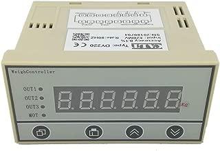 Weighing Scale Load Cell Amplifier JY-S60 24Vdc Supply Voltage Current Converter Weight Transmitter 0-5V 0-10V 4-20mA E5v-3.0mv//v