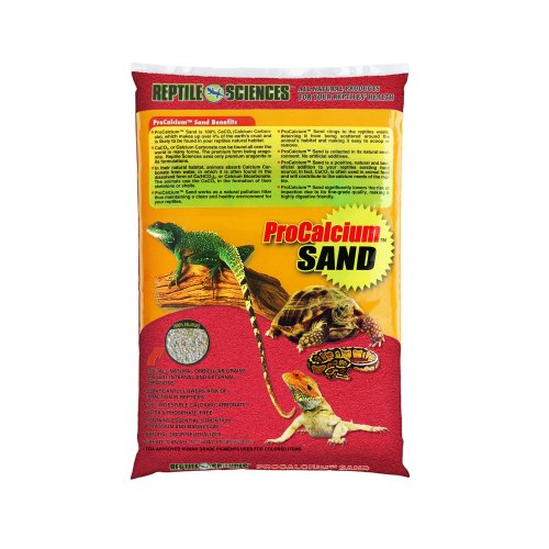 Reptile Sciences Terrarium Sand, 10-Pound, Red
