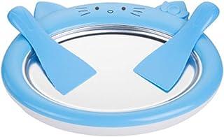 BoBoHome Mini Machine À Glaces De Dessin Animé Machine À Yogourt Frit Maison Machine À Glaçons Fraîche D'Été - Bleu