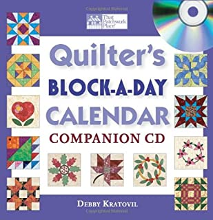 Quilter's Block-a-Day Calendar Companion CD