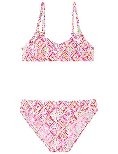 Schiesser Mädchen Aqua Bustier Bikini, Mehrfarbig (Multicolor 904), 176