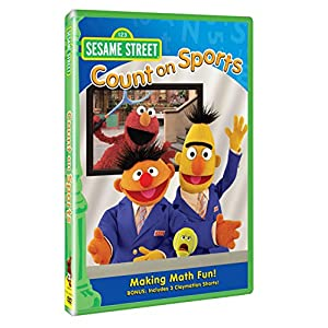 Sesame Street: Count on Sports [DVD]