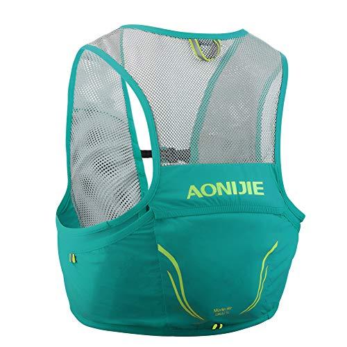 Aonijie Sac à dos d'hydratation 5 l - Vert - Medium/Large