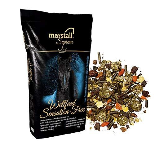 marstall Premium-Pferdefutter Wellfeed Sensation-Free, 1er Pack (1 x 15 kilograms)