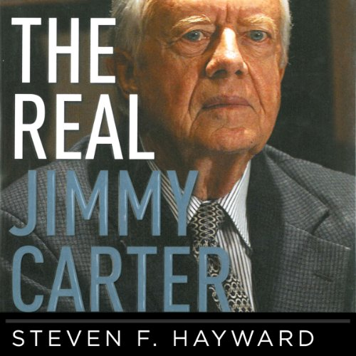 The Real Jimmy Carter audiobook cover art