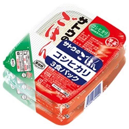 サトウ食品 サトウのごはん コシヒカリ 3食パック (200g×3食)×12個入×(2ケース)