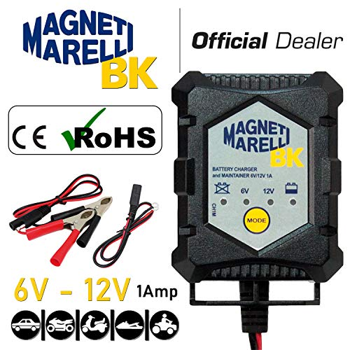 MAGNETI MARELLI - MOCH1M/395 : Agm sla vrla carica batterie gel e tradizionale mo1210