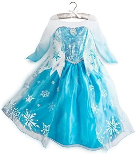 Authentic Disney Store Elsa From Frozen Costume Dress up for Kids Age Größe 9-10 Years by Disney