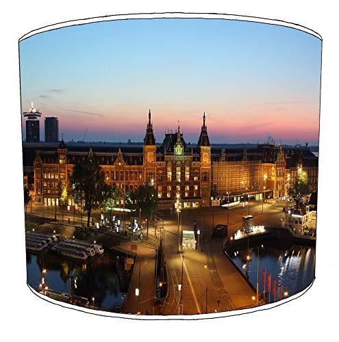 30cm stad van amsterdam lampekap8 Voor een plafondlamp