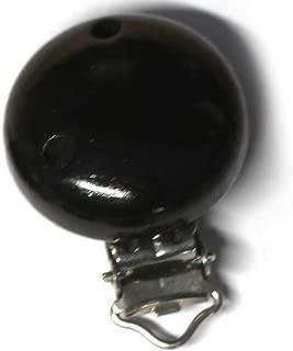 Schnullerketten Zubeh/ör bordeauxrot 10x Schnullerketten Clips PREMIUM mit 3 Ventilationsl/öchern f/ür Baby Schnullerkette