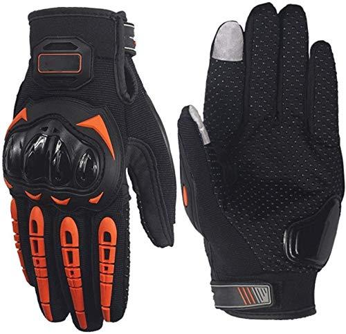 ZRH Hombres Guantes De Carreras De Motocicletas Motocross Off-Road Enduro Full Finger Gloves (Color : 2, Size : M)