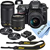 Nikon D7500 DSLR Camera Kit with 18-55mm VR +...