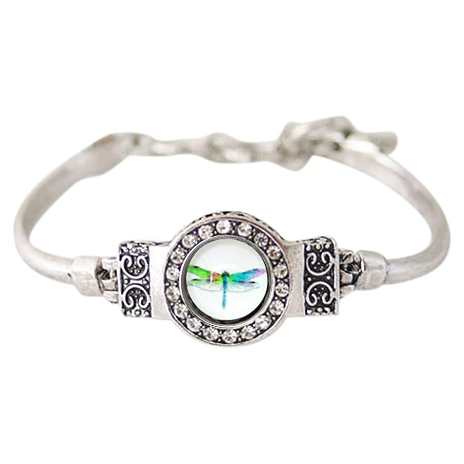 Snap Charm Bracelet Mini Snap 12mm Includes Dragonfly Snap Shown