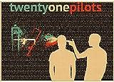 ZHANGKEKE Twenty One Pilots Poster Vintage Retro Rock Band