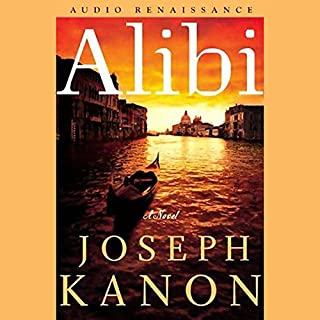 Alibi audiobook cover art