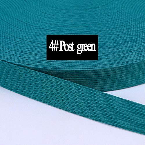 40 meter effen kleur goedkoop glanzend omslag elastische FOE spandex band kinderen haar stropdas hoofdband jurk Lace Trim naaien 8/10