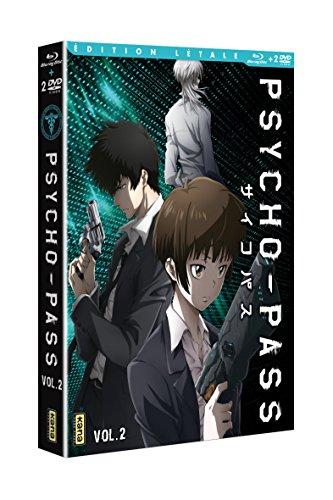 Psycho-Pass-Saison 1, Vol. 2 [Édition Létale Blu-Ray + DVD]