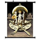 ROUNDMEUP The Promised Neverland Anime Fabric Wall Scroll Poster (16x23) Inches [A] The Promised Neverland-14