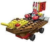 Mega Bloks SpongeBob Squarepants Mr. Krabs Racer Building Kit