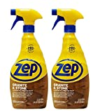 Zep Granite and Stone Countertop Cleaner and Protectant 32 oz. ZUCSPP32 (Pack of 2) - Formulated for pros to clean AND protect countertops
