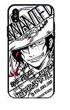 Coquefone Coque iPhone 7 et iPhone 8 Luffy Wanted Noir et Blanc série Manga Japon Japonais One Piece Dead Or Alive