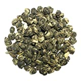 The Tea Farm - Jasmine Emperor's Pearl Green Tea - Chinese Loose Leaf Green Tea (16 Ounce Bag)