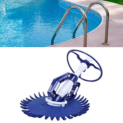01 Automatischer Absaugsauger, Automatischer Poolreiniger Absaugstaubsauger Schwimmbadreiniger für Schwimmbadschutt Bodenstufen