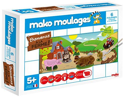 Mako Moulages -  Bienvenue à la Ferme ! - 6 moules