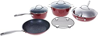 Curtis Stone Dura-Pan Nonstick 8-piece Essential Cookware Set Model 615-402
