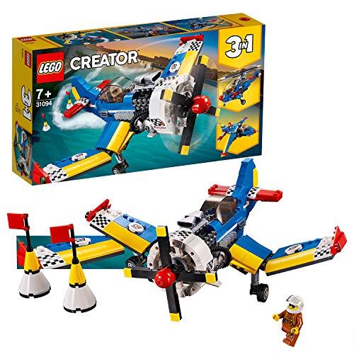 LEGO Creator - Avión de Carreras, juguete creativo de construcción y aventuras en el aire (31094) , color/modelo surtido