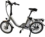 GermanXia E-Bike Faltrad Mobilemaster E-Klapprad Touring CH-15,6 7G Shimano 20 Zoll ohne Gasdrehgriff, eTurbo 250 Watt HR-Antrieb, bis zu 140 km Reichweite nach StVZO