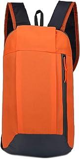 XFentech Casual Rucksack - Fashion School Backpack College Travel Daypack,Orange,38 * 21 * 10 cm