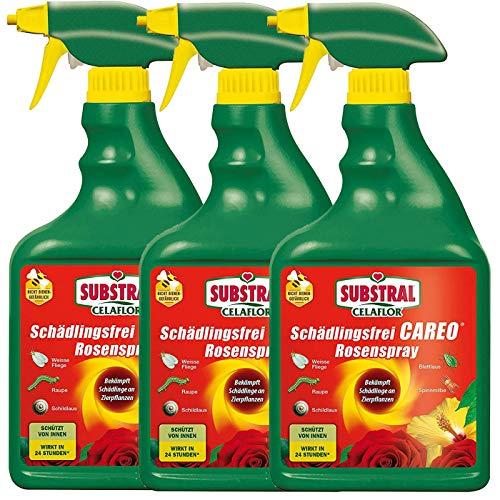 CELAFLOR® Schädlingsfrei CAREO Rosenspray 2,25 l - Vollsystemische Wirkung gegen saugende und beißende Schädlinge