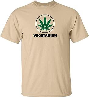 vegetarian pot leaf shirt